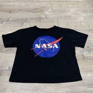 Chemistry NASA Space Crop Shirt juniors  Large
